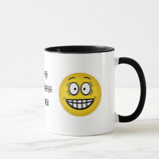 More COFFEE Please Smiley Face Cup