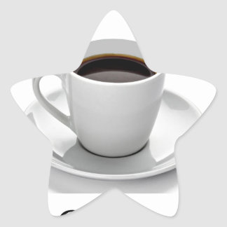 More coffee star sticker