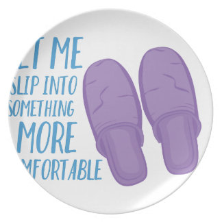 More Comfortable Dinner Plate