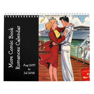 More Comic Book Romances - Aug 2017 - Jul 2018 Calendar