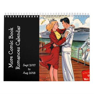 More Comic Book Romances - Sept 2017 o Sapt 2018 Calendar