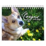 More Corgis (with blogs) Mini Calendar