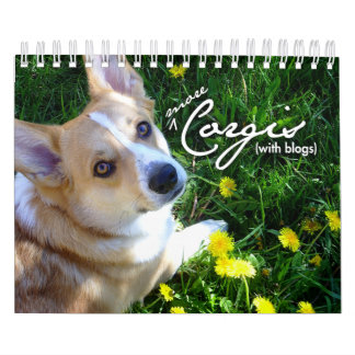 More Corgis (with blogs) Mini Calendar