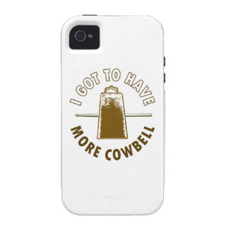 MORE COWBELL iPhone 4 CASES