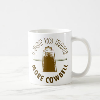 MORE COWBELL COFFEE MUG
