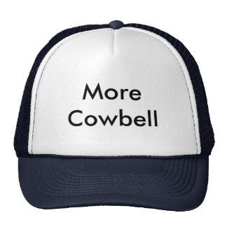 More Cowbell Hats