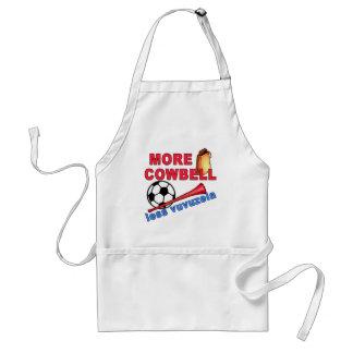 More Cowbell Less Vuvuzela Tshirts Mugs Apron