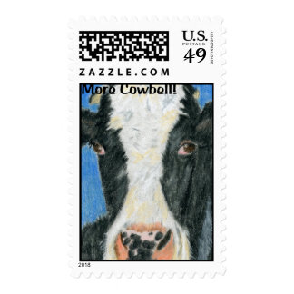 More Cowbell Postage Stamps