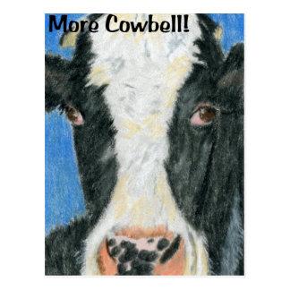 More Cowbell! Postcard