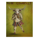 More Cowbell Postcard