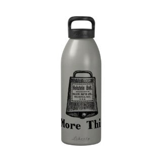 More Cowbell Water Bottle