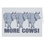 More Cows! Greeting Card