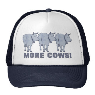 More Cows! Mesh Hats