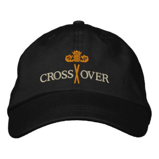 MORE CROSSOVER with Crown - 002 Embroidered Baseball Hat