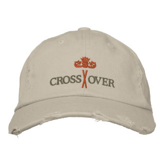 MORE CROSSOVER with Crown - 004 Embroidered Baseball Hat