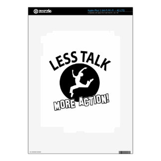 More Dancing less talk Decals For iPad 3