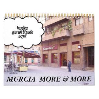 More& de MURCIA más Calendario