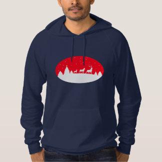 more deer family hoodie