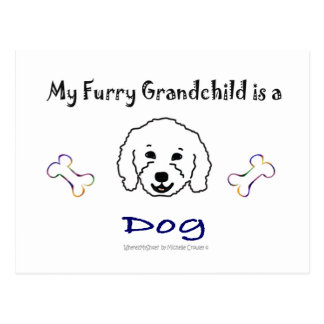 More Dog Breed Names W/This Design Post Cards