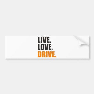 more driver bumper sticker