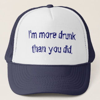 More drunk than you did Cap