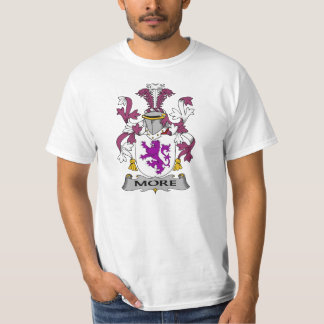 More Family Crest Tee Shirt