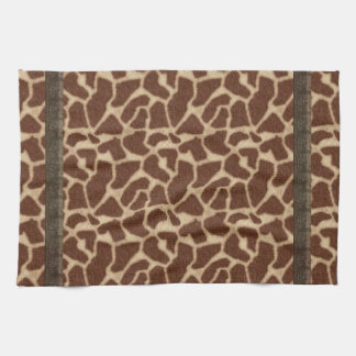 More Faux Fur From the Brilliant Giraffes Hand Towels