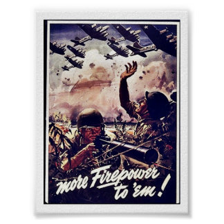 More Firepower To 'Em! Poster