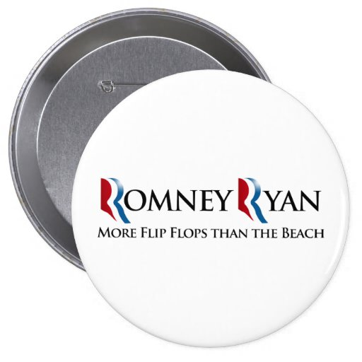 MORE FLIP FLOPS THAN THE BEACH.png 4 Inch Round Button