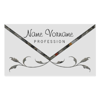 more flower Double-Sided standard business cards (Pack of 100)