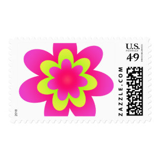 More Flower Power Postage