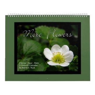 More Flowers Choose-Your-Date Huge Calendar calendar