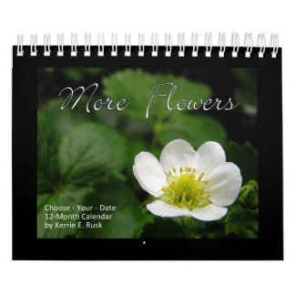 More Flowers Small version Choose-Your-Start-Date Calendar