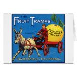 More Fruit Tramp Fun Cards