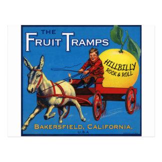 More Fruit Tramp Fun Post Card
