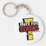 More Fun comics Key Chain