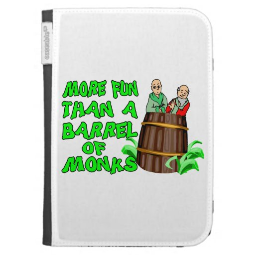 More Fun Than A Barrel Of Monks Kindle 3 Cover