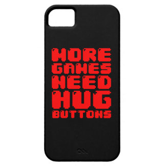 MORE GAMES NEED HUG BUTTONS iPhone SE/5/5s CASE