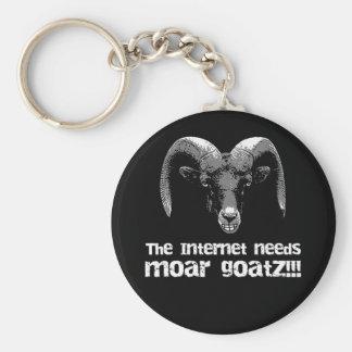 More Goatz Key Chain