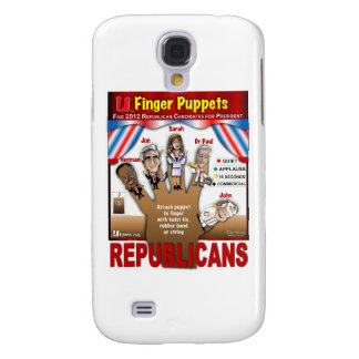 More GOP Finger Puppets Samsung Galaxy S4 Cover