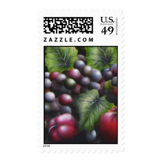 More Grapes Postage Stamps