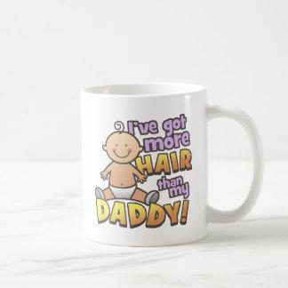 More Hair Than Daddy T-Shirts & Gifts Coffee Mug