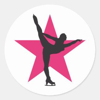 more icedancer classic round sticker