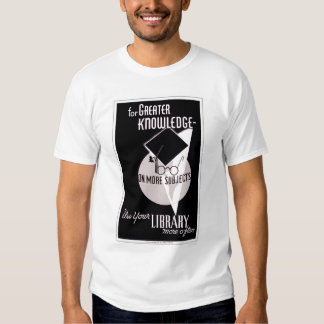 More Knowledge Library 1940 WPA Shirt