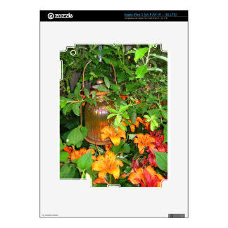 More Lantern and Lilies iPad 3 Decal