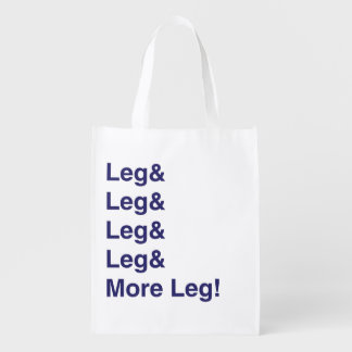 More Leg! Grocery Bag