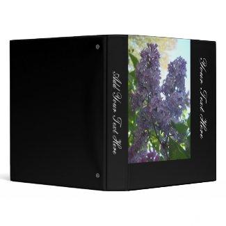 More Lilacs In Springtime Binder binder