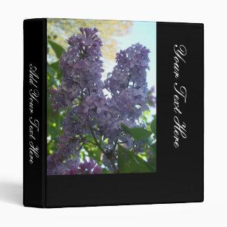 More Lilacs In Springtime Binder