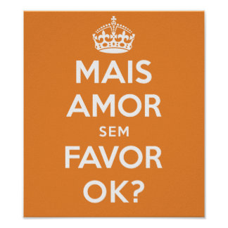 More Love Without Favor Poster