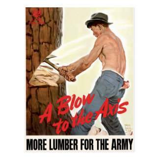 More Lumber for the Army Postcard